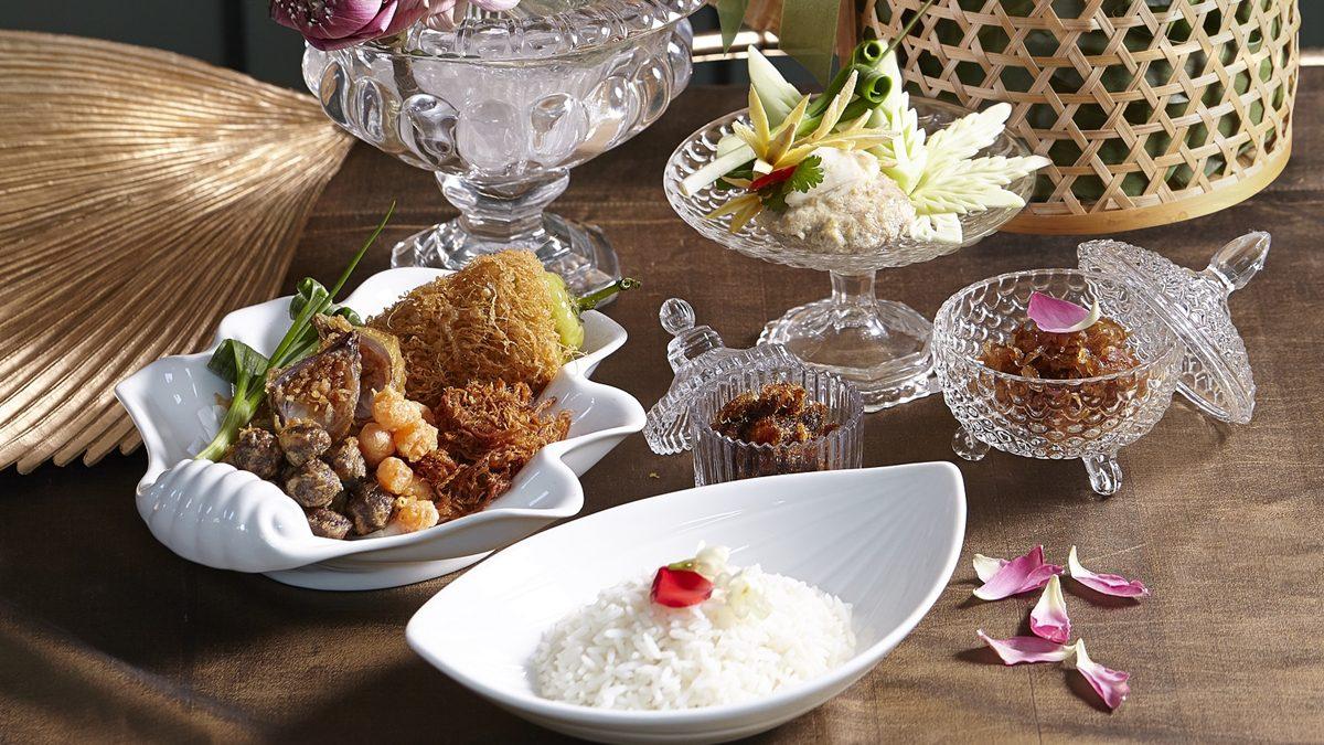"""""""สำรับข้าวแช่ ตำรับ Khao"""" ร้านอาหารไทยระดับมิชลิน เมนูต้อนรับฤดูร้อนประจำปีนี้"""