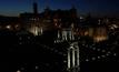 ท่องเที่ยวจัตุรัสโรมันยามราตรี