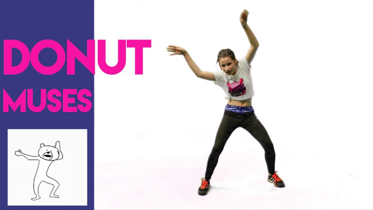 MONO MUSES: MOVE LIKE STICKERS - DONUT