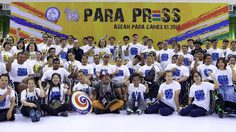 """สื่อมวลชนร่วมแข่งนักกีฬาอาเซียนพารา  งาน """"พารา-เพรส ครั้งที่ 4"""" ร่วมส่งใจเชียร์นักกีฬาไทย"""