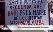 เฮติประท้วงต่อต้านการเหยียดผิวในโดมินิกัน