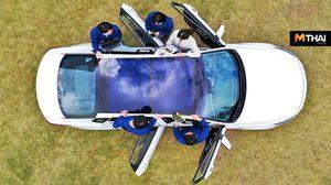 Hyundai และ Kia กำลังพัฒนา แผงโซลาร์เซลล์ ติดตั้งในรถยนต์