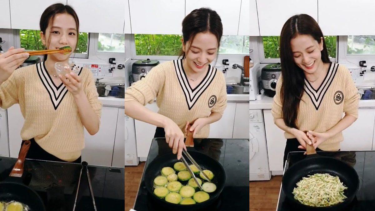Jisoo ไลฟ์ทำอาหาร ยอดคนดูสูงสุดของรายการ Tasty Square และผักขายหมดอย่างรวดเร็ว
