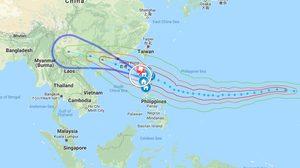 ประกาศกรมอุตุนิยมวิทยา 'พายุมังคุด' ฉบับที่ 7 ชี้ทั่วไทยฝนตกต่อเนื่อง