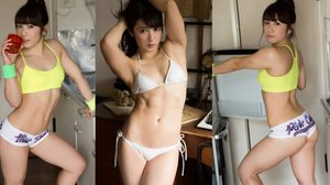Saiki Reika สาวยุ่นล่ำบึ้กหน้าหวานชวนสยิว!!