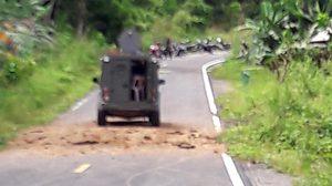 คนร้ายลอบวางระเบิด จนท.ทหารพรานที่ 33 จ.ยะลา บาดเจ็บ 4 นาย