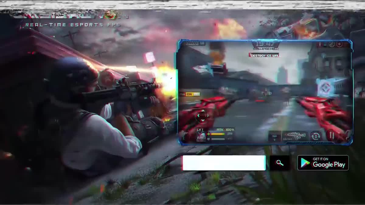 [ตัวอย่างเกม] Crisis Action-eSports FPS
