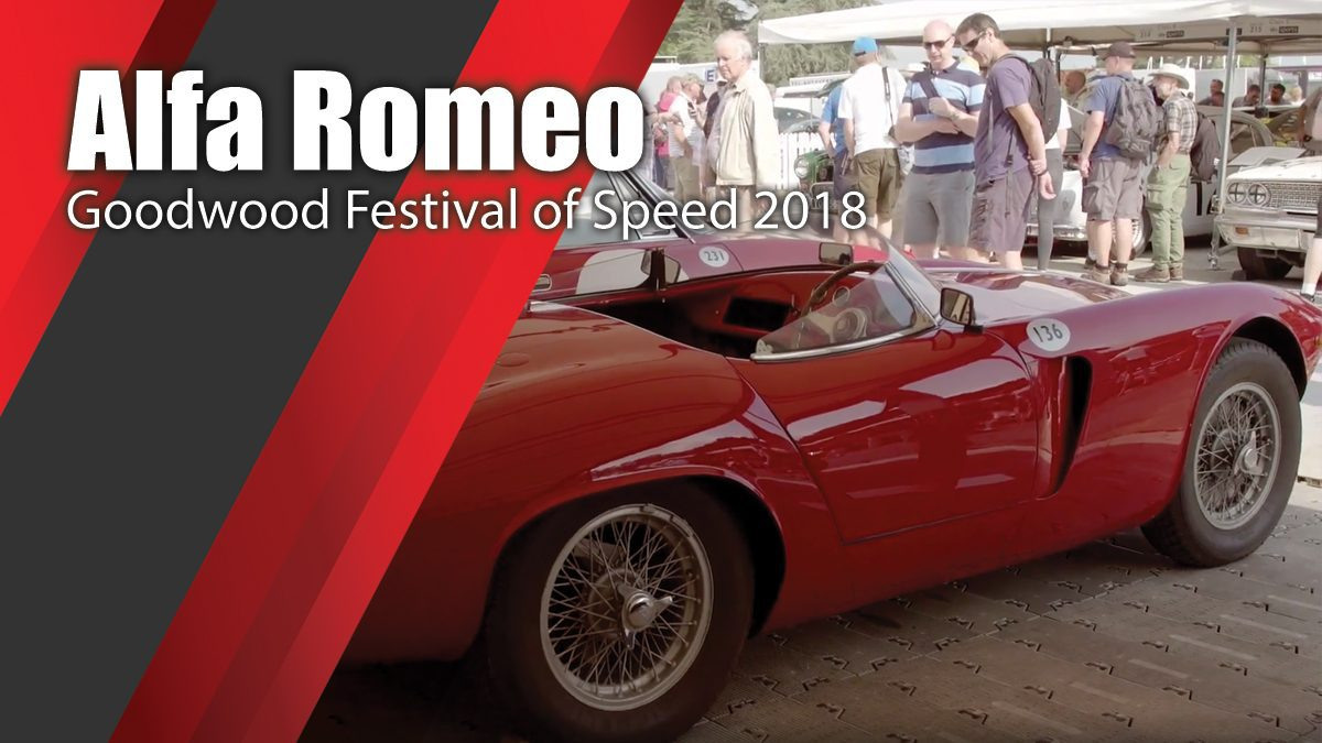 Goodwood Festival of Speed 2018 in sign of Alfa Romeo