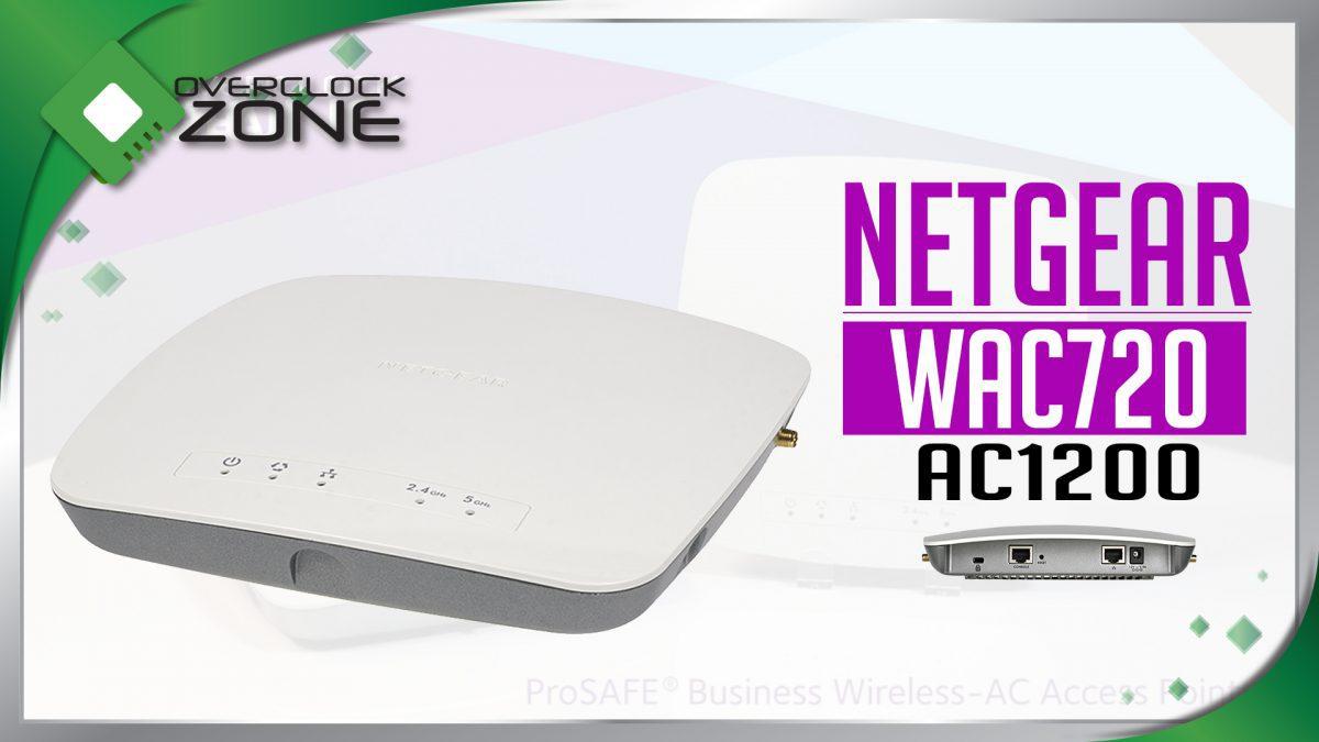 รีวิว NETGEAR WAC720 : Enterprise Access Point