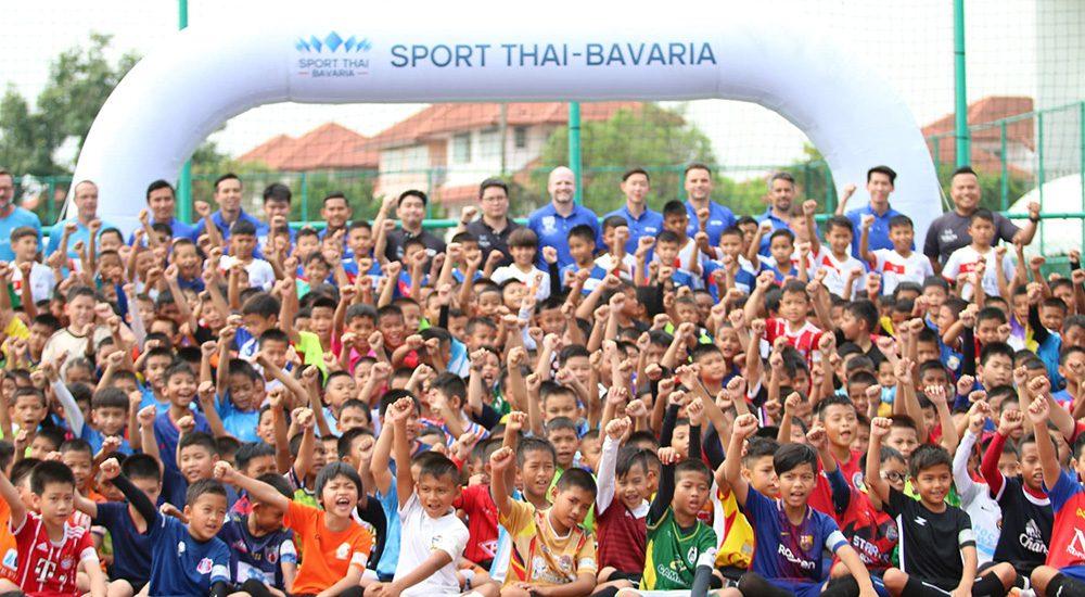 แข้งเยาวชนไทยกว่าครึ่งพัน แห่ทดสอบฝีเท้าโครงการ STB Football Academy ปี 2