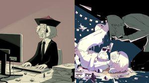 แทบสะอึก! การ์ตูนฝีมือศิลปินญี่ปุ่นที่เผยด้านมืดของมนุษย์ได้อย่างถึงกึ๋น