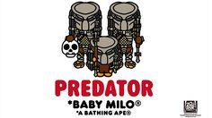 A Bathing Ape x Predator คอลเลคชั่นต้อนรับภาพยนตร์นักล่าจากต่างดาว