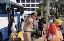 คนไทยจากอู่ฮั่นกลับภูมิลำเนา