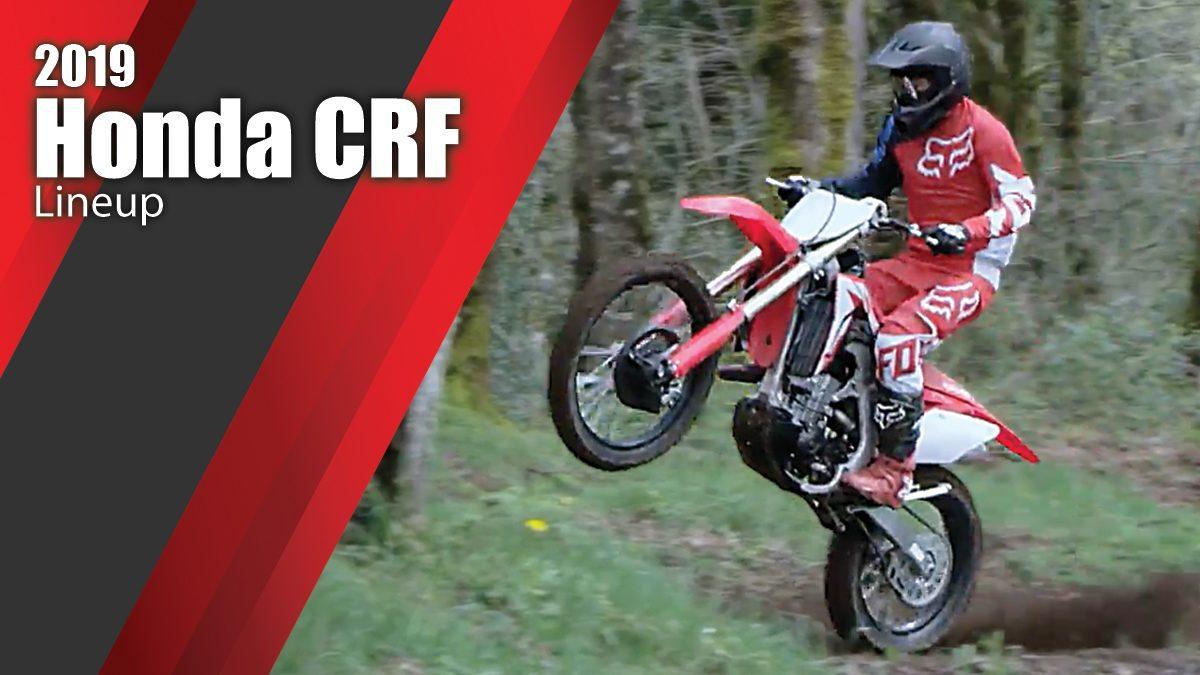 2019 Honda CRF Lineup