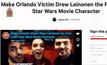 เพื่อนเหยื่อกราดยิงออร์แลนโด ขอ Disney เปลี่ยนเพื่อนเป็นตัวละคร Star Wars
