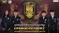 ส่งใจเชียร์ Roommate ทีมไทยสู้ศึกเวทีโลก Dragon Nest World Championship 2018
