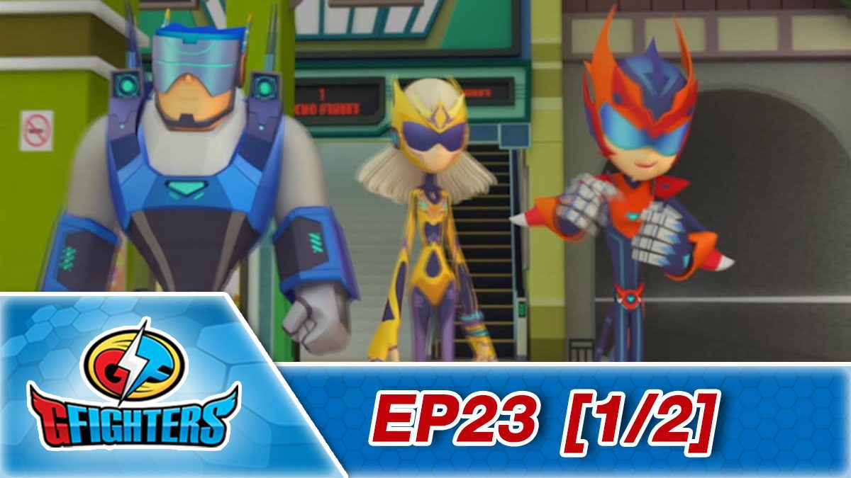 G fighter ep 23 [1/2]