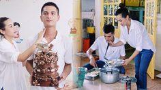 ชิน ชินวุฒิ แฮปปี้ พาหวานใจและครอบครัว ทำบุญวันเกิดอายุครบ 28 ปี