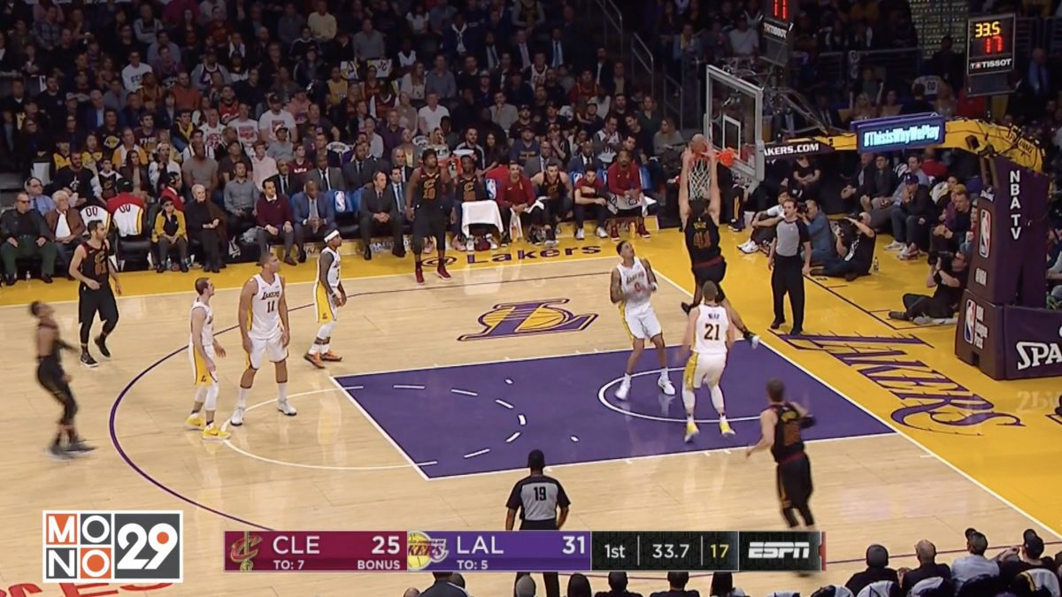 Highlight Cleveland Cavaliers VS Los Angeles Lakers