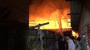 ไฟไหม้บ้านเรือนประชาชน ภายในซอยรามคำแหง 39