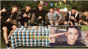 แทคยอน ถือฤกษ์ดี 'ครบรอบ 9 ปี วง 2PM' เข้ากรม เงียบกริบ!