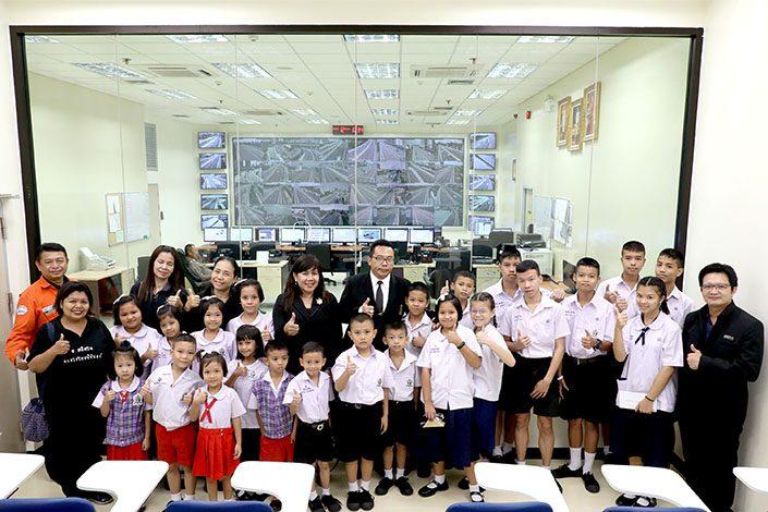 ภาพข่าว: BEM นำคณะครูและนักเรียนเยี่ยมชมศูนย์ควบคุมทางพิเศษศรีรัช-วงแหวนรอบนอกฯ
