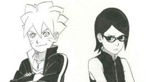 เผยภาพ Boruto และ Sarada จากมังงะมินิซีรี่ย์ Naruto Gaiden