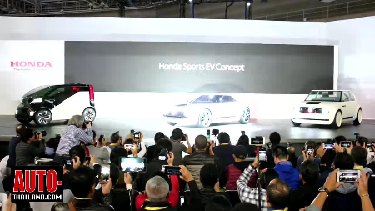 RE-Live : คลิป VDO พาชมการเปิดตัวรถยนต์ฮอนด้ารุ่นใหม่ในงาน Tokyo Motor Show 2017 ที่ประเทศญี่ปุ่น