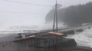 อุตุฯญี่ปุ่น ประกาศเตือนพายุ 'ฮากิบิส' ฝนตกรุนแรงหนักสุด ระดับ 5