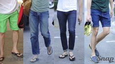 แอบส่องดาราหนุ่ม ในวันสบายๆกับ แฟชั่นรองเท้าแตะ ใครหล่อ เท่ เกรียนกว่ากัน