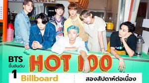ปังไม่หยุด! Dynamite จาก BTS ขึ้นอันดับ 1 Billboard Hot 100 สองสัปดาห์ต่อเนื่อง