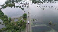 เกาะนางคำพัทลุง น้ำท่วมเหลือพื้นดิน 30% หนักสุดรอบ 40 ปี