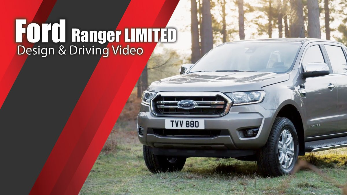 2019 Ford Ranger LIMITED Design & Driving Video