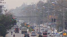ฝุ่นพิษปกคลุมเมืองเชียงใหม่ PM 2.5 เกินมาตรฐานทุกจุด