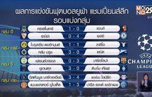 ผลการแข่งขันฟุตบอลยูฟ่า แชมเปี้ยนส์ลีก 03-12-63