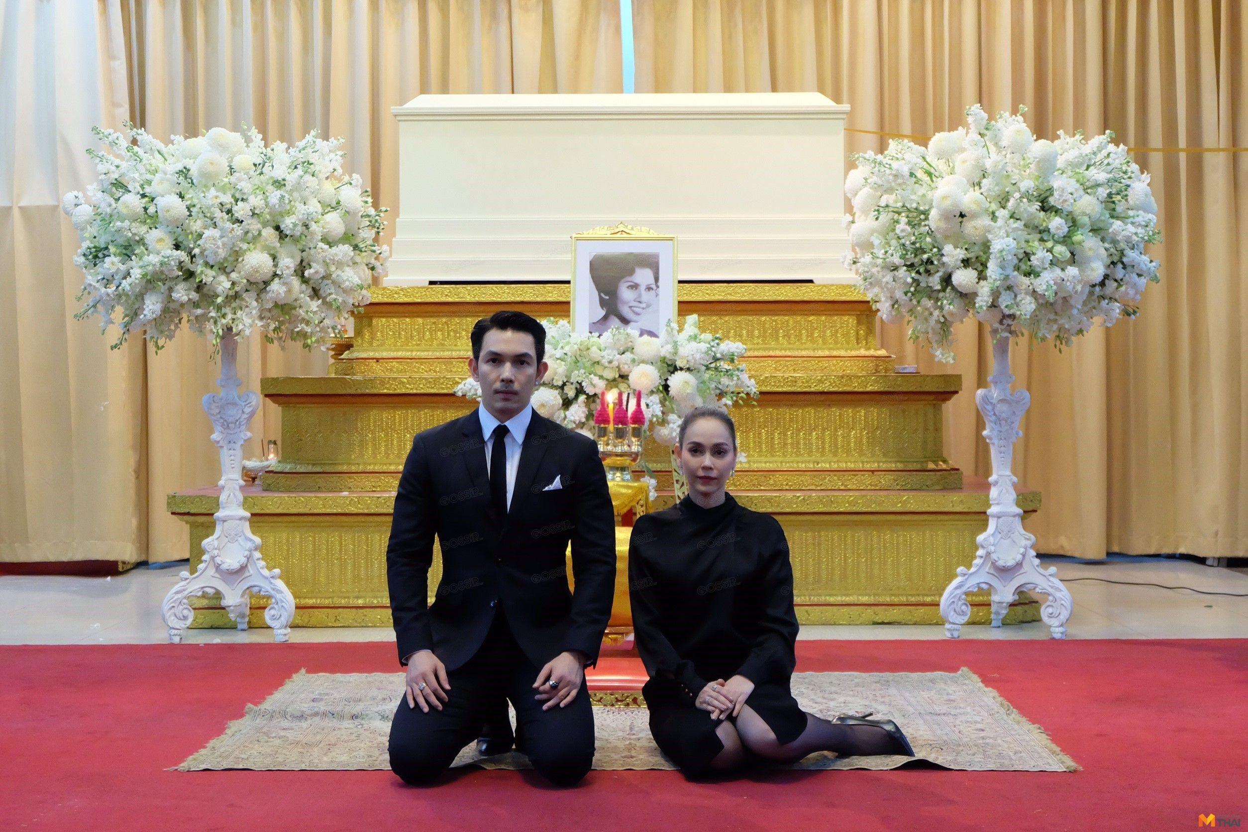 พิธีสวดอภิธรรมศพ คุณแม่จินดา เต็งมีศรี