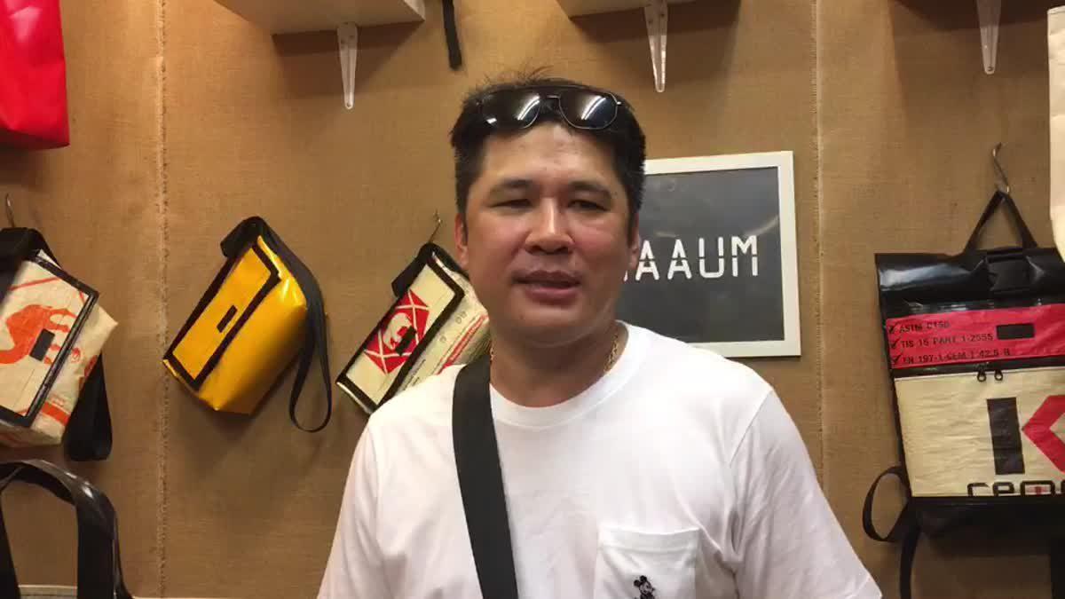 ร้าน 'CHAAUM STUDIO' นำถุงปูนขยะไร้ค่า ทำเป็นกระเป๋าสร้างรายได้
