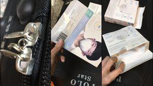สาวโวยสายการบินดัง หลังถูกงัดกระเป๋าขโมยหน้ากาก N95