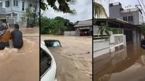 น้ำท่วมอินโดฯ ยังวิกฤติ เสียชีวิตแล้วกว่า 60 ราย