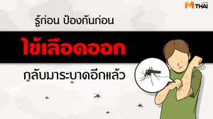 โรคภัยไม่เจ็บ : รู้ก่อน ป้องกันก่อน เตือนภัยประเทศไทย ไข้เลือดออกกลับมาระบาดอีกแล้ว