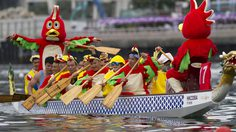 """ชวนเที่ยว """"เทศกาลการแข่งขันเรือมังกร"""" ที่ฮ่องกง"""