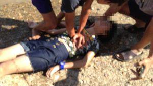 ตำรวจผู้พิทักษ์ประชาชน ปั๊มหัวใจเด็กจมน้ำ จนรอดตาย!