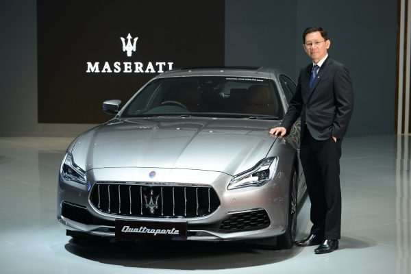 Maserati New Quattroporte