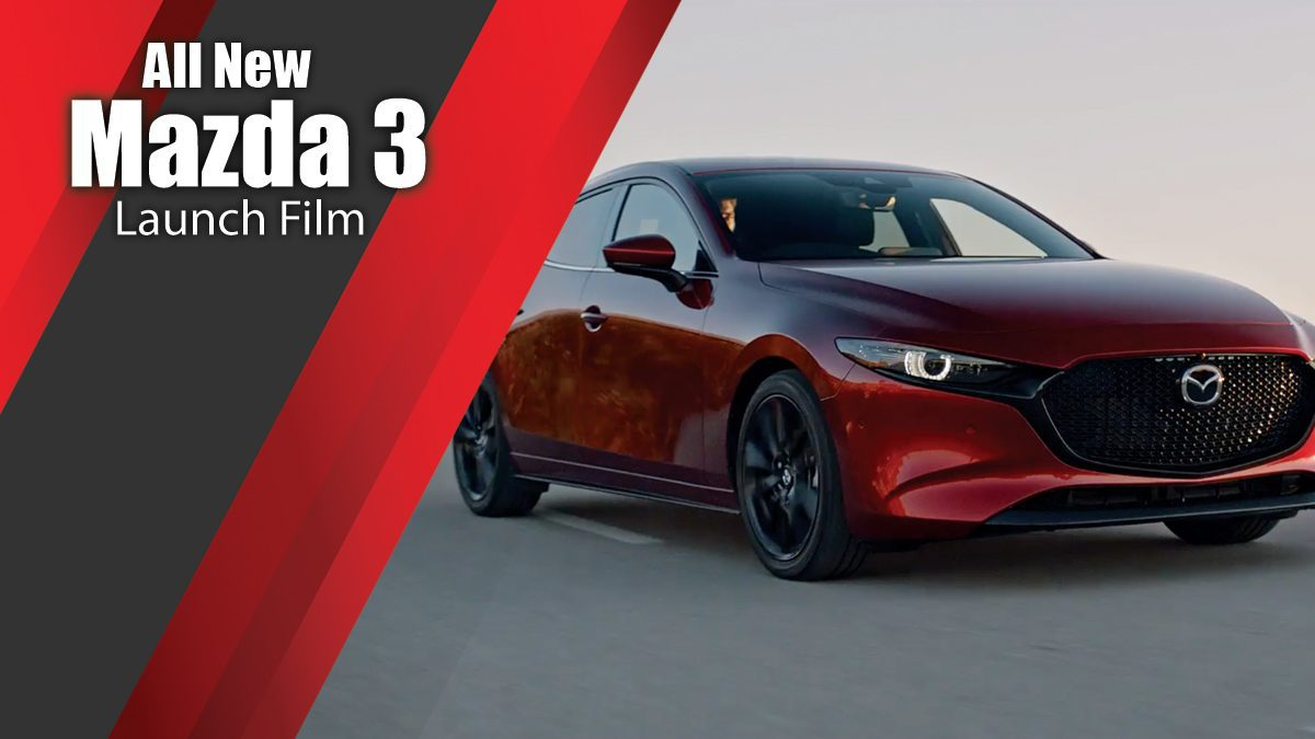 All New Mazda 3 Launch Film