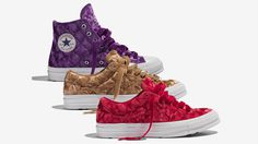 Tyler, The Creator และ Converse เผยรองเท้าคอลเลคชั่นล่าสุด Quilted Velvet Pack