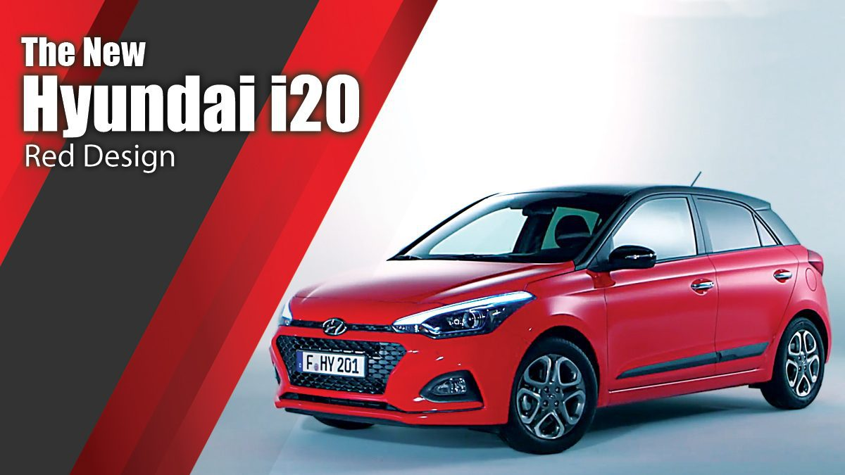 The new Hyundai i20 Red Design