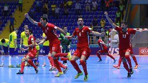 ช็อกโลก! อิหร่านแม่นโทษเขี่ยบราซิลตกรอบ,ศึกฟุตซอลชิงแชมป์โลก