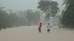กรมอุตุฯ เตือนภาคใต้ฝนยังตกหนักทะเลมีคลื่นสูง