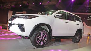 Toyota ชั่งใจอาจส่ง Toyota Fortuner ลงเปิดตัวในรัสเซีย