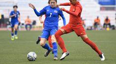 บอลหญิงไทยอัดอินโด 5-1 ลิ่วตัดเชือกเมียนมา ซีเกมส์ 5 ธ.ค.นี้